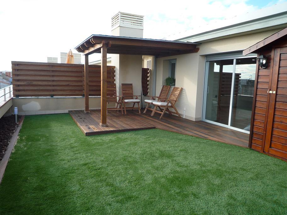 Pergolas terrazas peque as innovation - Terrazas con pergolas ...