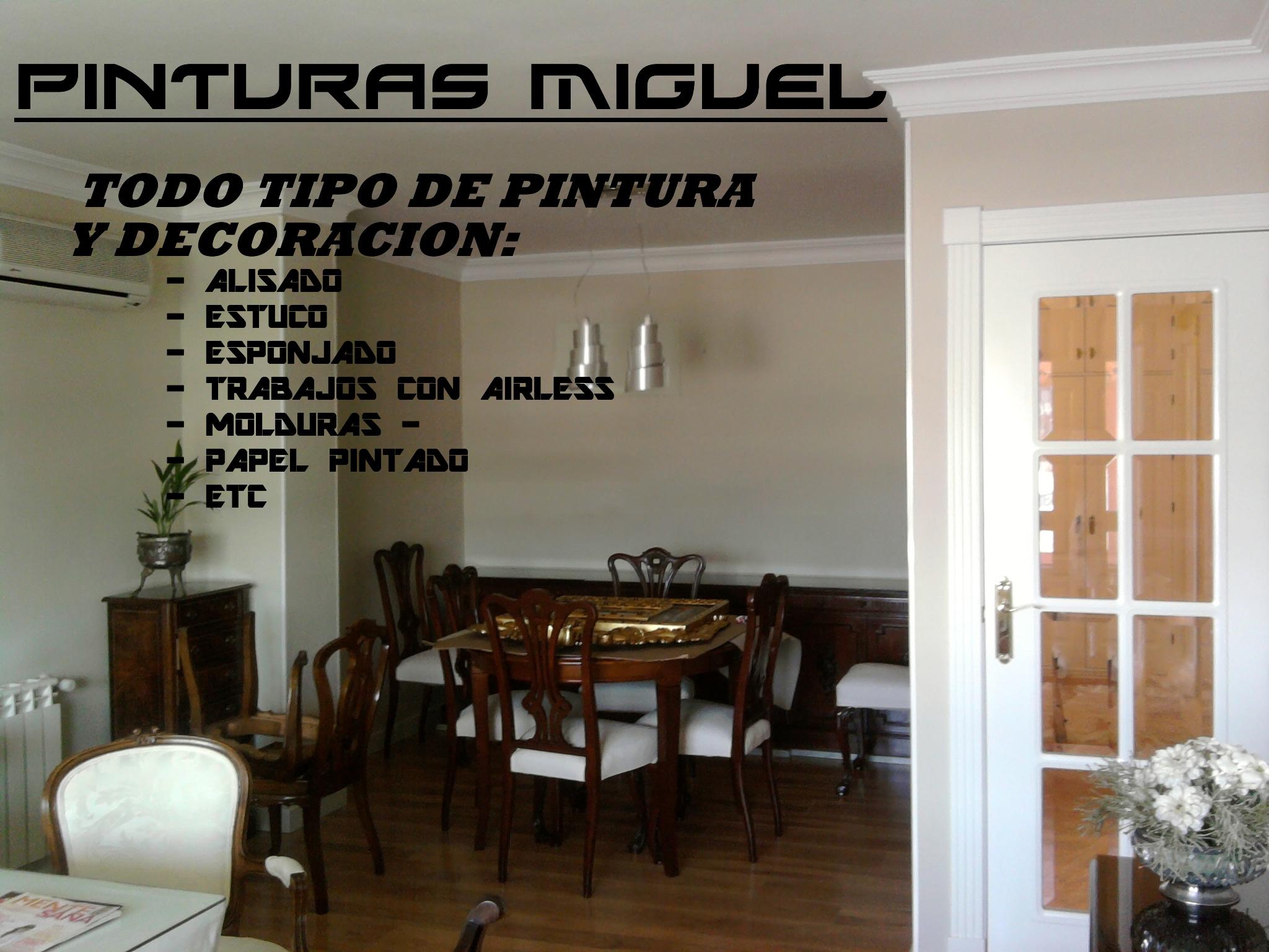 Todo tipo de trabajos de pintura la mejor relacion for Mejor pintura interior calidad precio