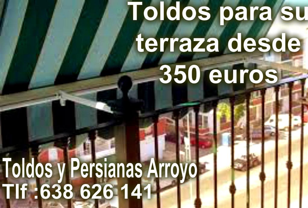 Tapiceria toldos y persianas arroyo barato en madrid - Toldos precios baratos ...