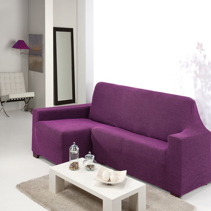 Renueva y protege la tapicer a de tu sof chaise longue - Fundas para sofas con chaise longue ...